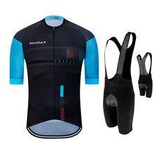 Camisa de ciclismo 2021 pro team raudax verão ciclismo roupas secagem rápida conjunto corrida esporte mtb bicicleta camisa uniforme
