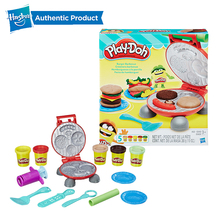 Hasbro Play-Doh Kitchen Creations Burger Barbecue Non-Toxic Clay Set Play Doh Educational Toys Light Soft Modeling DIY Toy