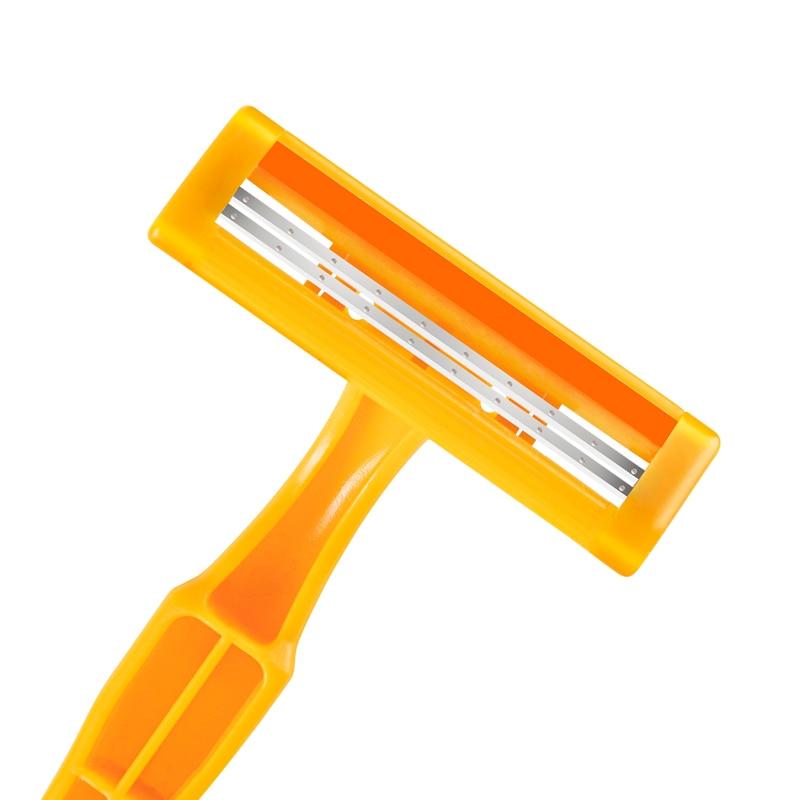 станок для бритья rzr iguetta gf2-1721, 2 шт желтый