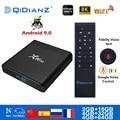 Smart TV BOX x96Air Android 9,0 8K двойной Wifi BT медиаплеер Play Store бесплатное приложение быстрая телеприставка X96 Air PK HK1MAX H96
