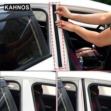 Seal-Strip Protector-Seal Car-Door Rubber Pillar Noise-Insulation Column 2pcs