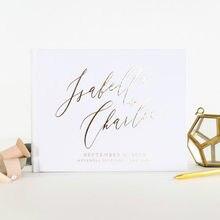 Casamento livro de visitas com folha de ouro casamento livro de visitas cabine de fotos livro de hóspedes para o casamento viagem álbum de fotos moderno
