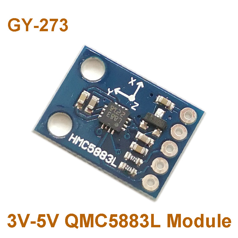 GY-273 3V-5V HMC5883L Triple Axis Compass Magnetometer Sensor Module Three Axis Magnetic Field Module