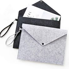 File-Folder Document-Bag Envelope Folders-Expanding Office Portable A4 with Lanyard
