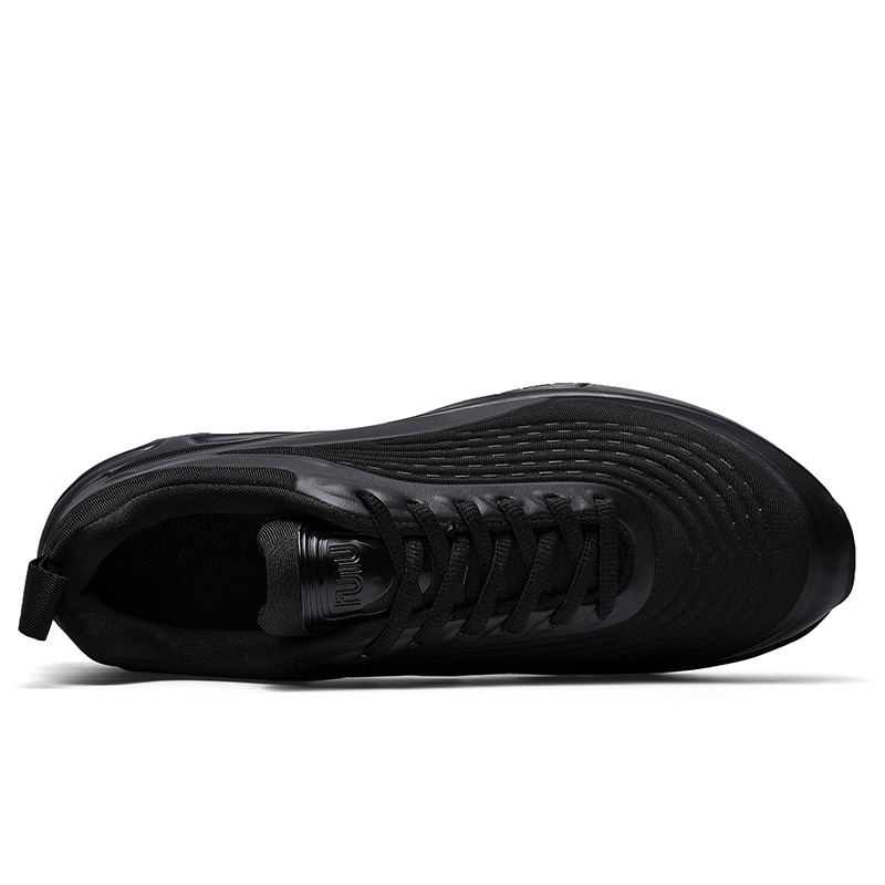 Image 5 - 2019 Fashion Black Slip on Breathable High Quality Men Sneakers Comfortable Casual Slip on Shoes For Male Boots Running ManMens Casual Shoes   -