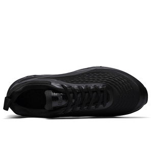 Image 5 - 2020 Fashion Black Slip on Breathable High Quality Men Sneakers Comfortable Casual Slip on Shoes For Male Boots Running Man