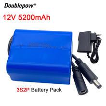 Оригинальная 18650 батарея 12v 52ah 5200mah перезаряжаемые батареи