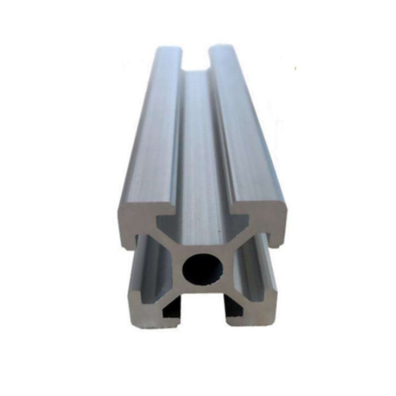 Length 100-800mm 2020 Aluminum Profile Extrusion CNC Parts European Standard Anodized Linear Rail For DIY 3D Printer