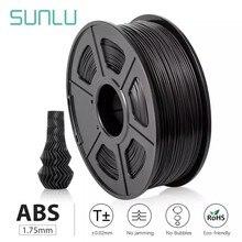Sunlu Abs Filament 1.75Mm Voor 3D Printer 100% Geen Bubble Uitstekende Kwaliteit Plastic Abs Filament Voor Kinderen Scribble 1kg/2.2LBS