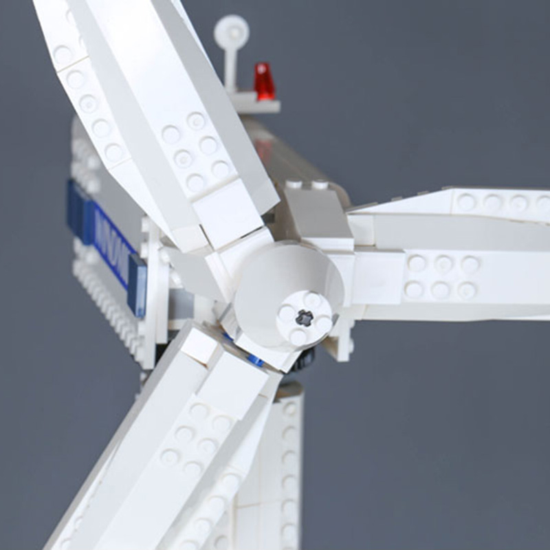 37004 925pcs สร้างสรรค์ turbine motor function building blocks ใช้งานร่วมกับ Legoingly 10268 เด็กของเล่นคริสต์มาส-ใน บล็อก จาก ของเล่นและงานอดิเรก บน   3