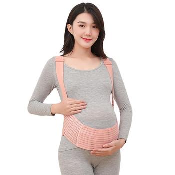 Pas ciążowy specjalna późna ciąża pas ciążowy stabilizator lędźwiowy cienki brzuch kieszeń brzuch Mop pas podtrzymujący brzuch ból łonowy tanie i dobre opinie CN (pochodzenie) MATERNITY GTN-21