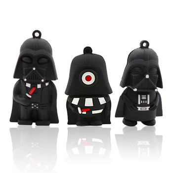 цена на pen drive usb stick memory stick u disk cartoon Darth Vader pendrive 128GB creative gift usb flash drive 4GB 8GB 16GB 32GB 64GB