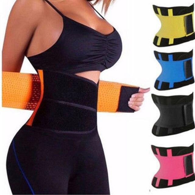 Women And Men Adjustable Elstiac Waist Support Belt Neoprene Faja Lumbar Back Sweat Belt Fitness Belt Waist Trainer Heuptas 1