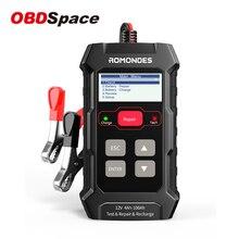 Obdspace RD510 Professionele Batterij Tester Accu Batterijen Reparatie Batterij Oplader 4A 100A 12V Auto Automotive Tools