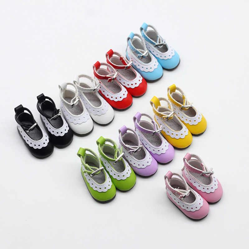 5 سنتيمتر حذاء قماش للدمى كول موضة أحذية صغيرة دمية أحذية DIY بها بنفسك اليدوية دمية طفل إكسسوارات دمي أحذية رياضية