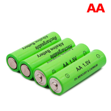 4PCS 100%  new label 3000 MAH rechargeable battery AA 1.5 V. Rechargeable new Alcalinas battery for light emitting diode toy
