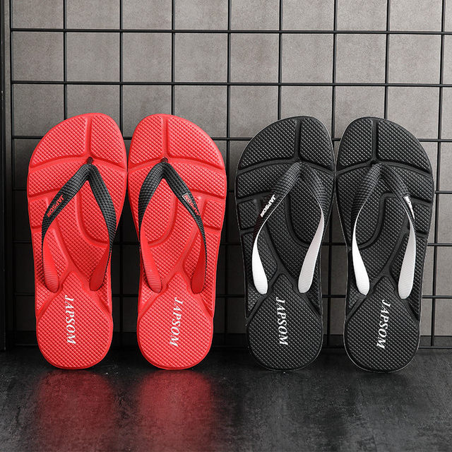Hot Fashion Blue Massage Slippers Men Flip Flops Big Size 46 Casual Slides Men Non Slip Beach Indoor Slippers Men сланцы мужские 6