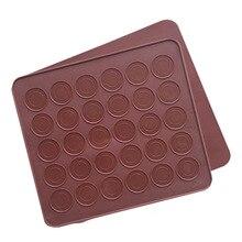 Bakeware-Tools Macarons-Mat Refrigerator Cooking Round 30-Holes Silicone DIY Gel-Pad