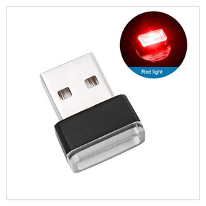 Car Accessories Atmosphere Light USB LED Mini for Renault Megan Modus Kangoo Logan Sandero Clio Modus