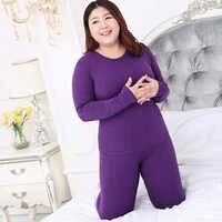 winter clothes women Long Sleeve Plus Size 3XL 4XL 5XL Thermal Long Johns Autumn Long Johns Solid Warm Women Thermal Underwear