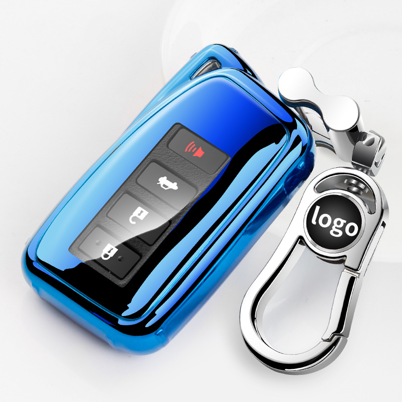 Soft TPU Remote Car Key Case Cover For <font><b>Lexus</b></font> <font><b>nx200</b></font> nx300h nx rx 270 300 is lx 570 Key Case For Car Shell image