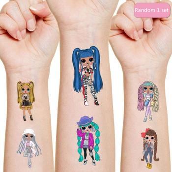 1 zestaw LOL niespodzianka lalki tatuaż naklejki losowe figurka niespodzianka Cartoon dzieci dziewczyny boże narodzenie lols prezenty urodzinowe tanie i dobre opinie Model Dla osób dorosłych Adolesce MATERNITY 4-6y 7-12y 12 + y 18 + CN (pochodzenie) Unisex PIERWSZA EDYCJA Peryferyjne
