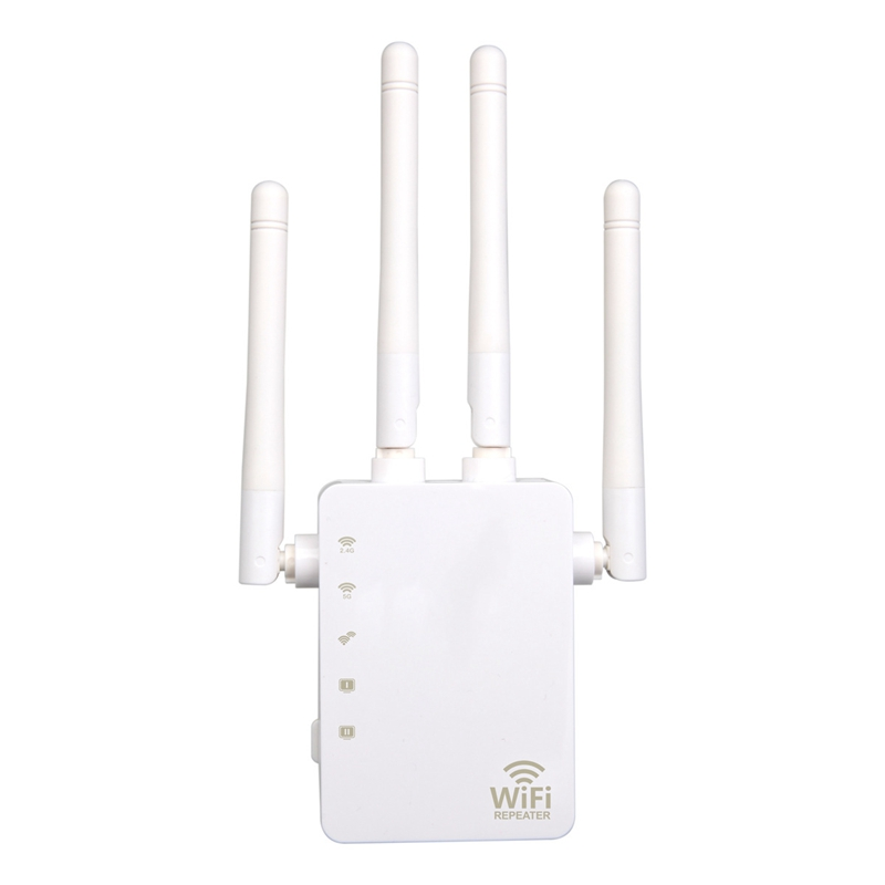 WiFi Range Extender 300/ 1200Mbps Dual Band 2.4/5GHz Wi-Fi Internet Signal Booster Wireless Repeater For Router Easy Setup WPS E