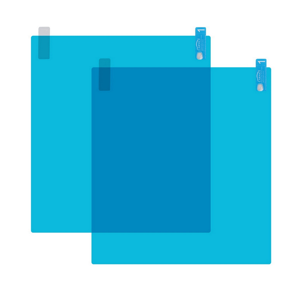 Image 5 - 4pcs Car Side Window Protective Film Universal Anti Fog Membrane Antiglare Waterproof Rainproof Car Sticker Clear Film Kit