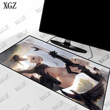 XGZ NieR Automata Sexy Girls Mouse Pad Large Lock Edge Mat L