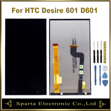 цена на LCD For HTC Desire 601 Full LCD Display Touch Screen Digitizer LCD Display Assembly For HTC Desire 601 D601