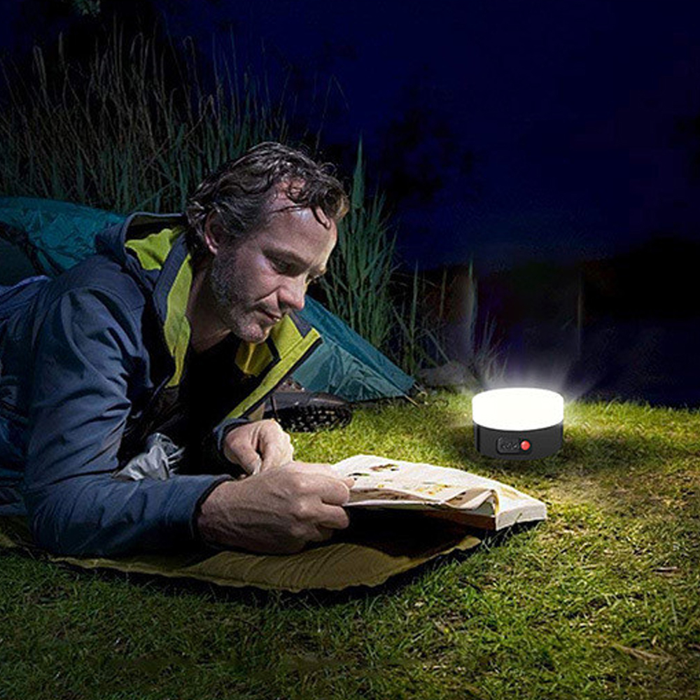 Solar Powered Lantern Camping Light LED Mini Hanging Lamp for Tent Lamp Solar USB Rechargeable Waterproof Tent Light 5