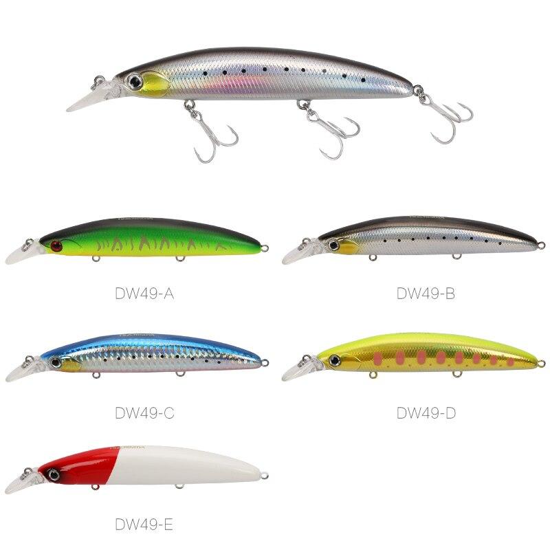 Image 2 - TSURINOYA 5pcs Fishing Lure DW48 110mm 20.5g Deep 1.5m Long Casting Floating Minnow Bass Lure Artificial BaitFishing Lures   -