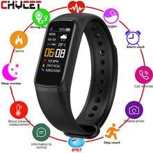 Chiccet Smart Bracelet frequenza cardiaca pressione sanguigna Fitness Tracker bracciale WhatsApp promemoria Smart Band Watch per uomo donna bambini