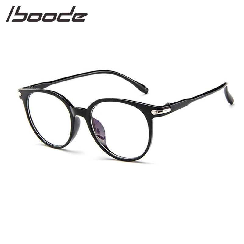 IBOODE Anti Blue Rays Computer Glasses Men Blue Light Coating Gaming Glasses For Computer Protection Eye Women Retro Spectacles