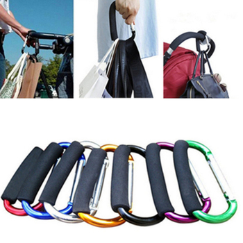 2pcs Baby Stroller Accessories Multi Purpose Baby Stroller Hook Diaper bag hooks Pram Hook Props Hanger Metal Convenient Hook цена 2017
