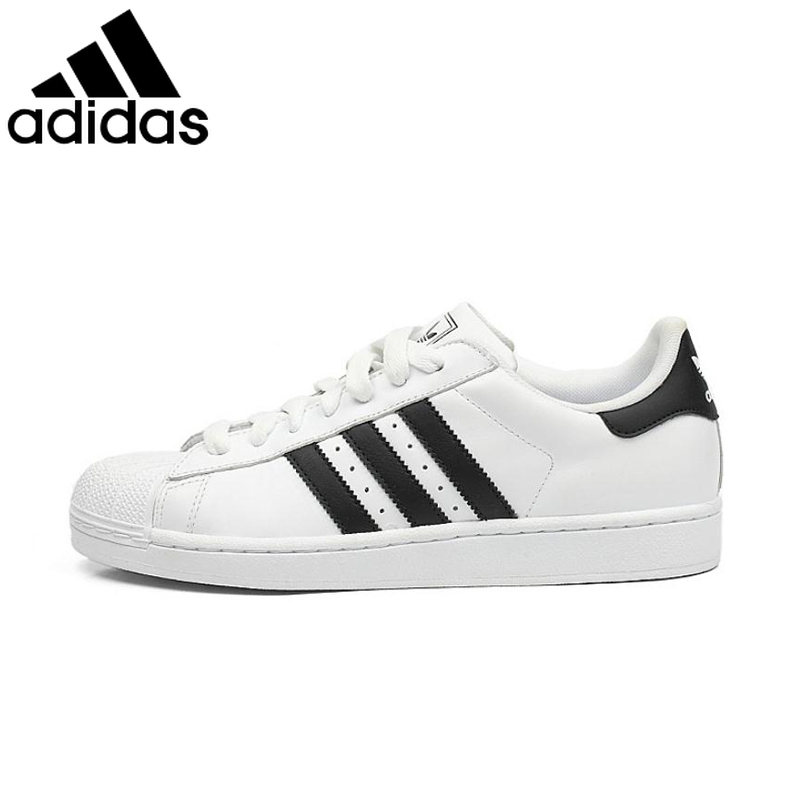 Original Authentic <font><b>Adidas</b></font> Clover Mens Skateboarding Shoes Womens Shell Head Sneakers Classic Lace-Up Low-top Footwear G17068 image