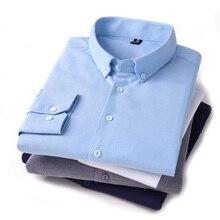 White Shirt Tuxedo Light-Blue Long-Sleeve Button-Down Men's Regular-Fit 4XL Cotton Gray