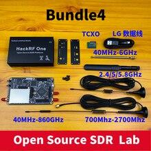 HackRF One SDR oprogramowanie zdefiniowane Radio 1MHz do 6GHz zestaw płyty rozwojowej płyty głównej