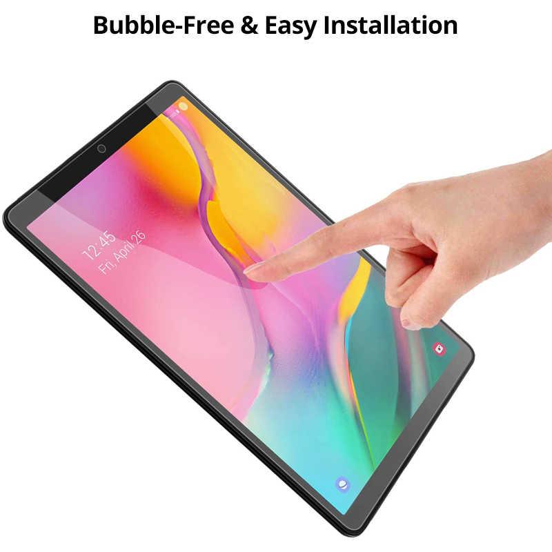 Temperli cam ekran koruyucu Samsung Galaxy Tab için bir 10.1 2019 T510 10.5 2018 8.4 2020 T307 8.0 T387 S5E s6 Lite 10.4 P610