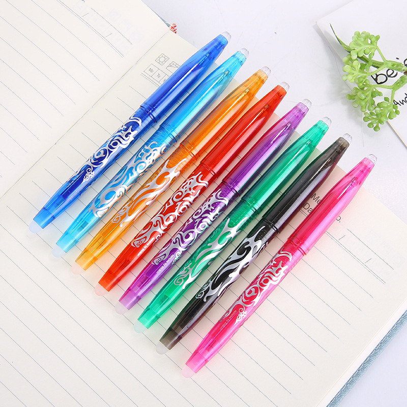 New 8 Colors For Choose 0.5mm Kawaii Pilot Erasable Pen Magic Gel Pen School Office Writing Supplies Student Stationery