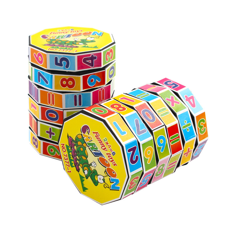 1 Pcs Digital Rubik's Cube Early Learning Learning Multi-layer Activity Toy Variety Rubik's Cube Color Rubik's Cube