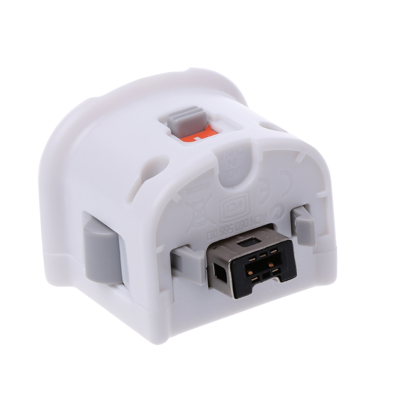 2021 New  1PC External Motion Plus Adapter Sensor for nintendo Wii/Wii U Remote Controller