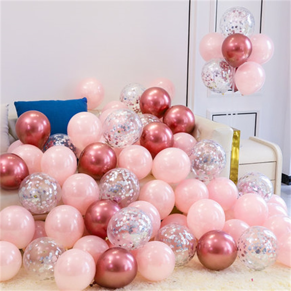 18pcs 10inch Multicolor Latex Balloons Matte Helium Globos For Wedding Decoration 10