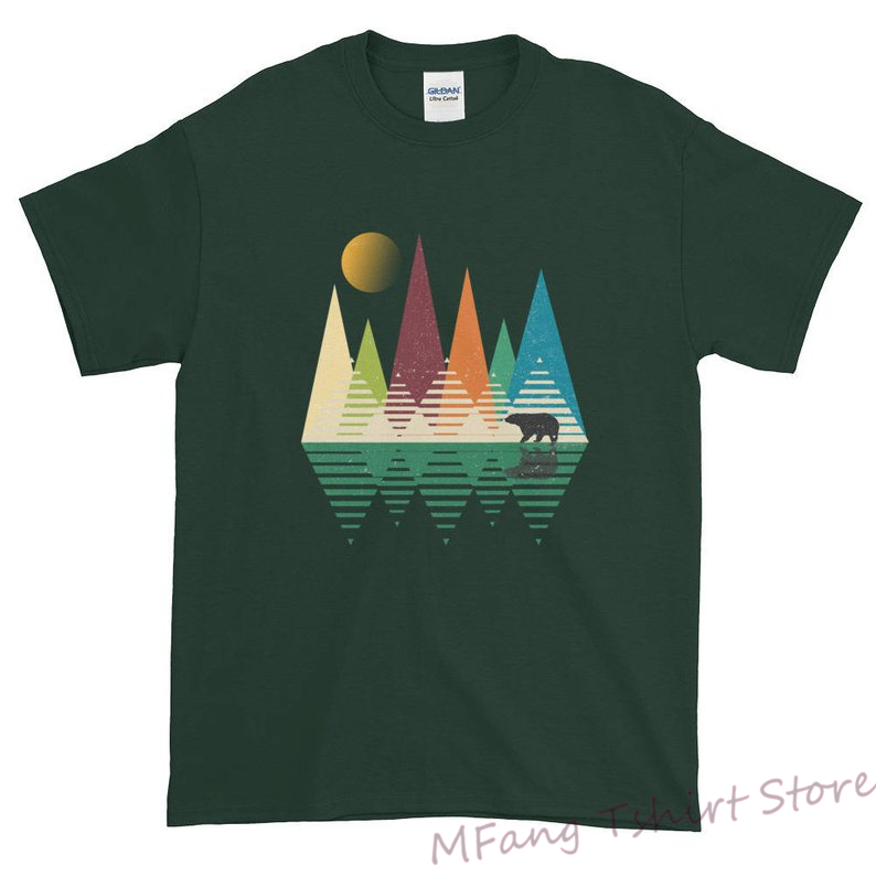 Bear In Mountains National Park Tshirt National Park National Parks Men National Park Shirt National Park Tee National Park image