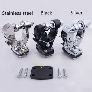 Image 5 - For Haval H9 2015 2019 Car trailer hook high quality cast iron plating trailer hook special trailer accessories