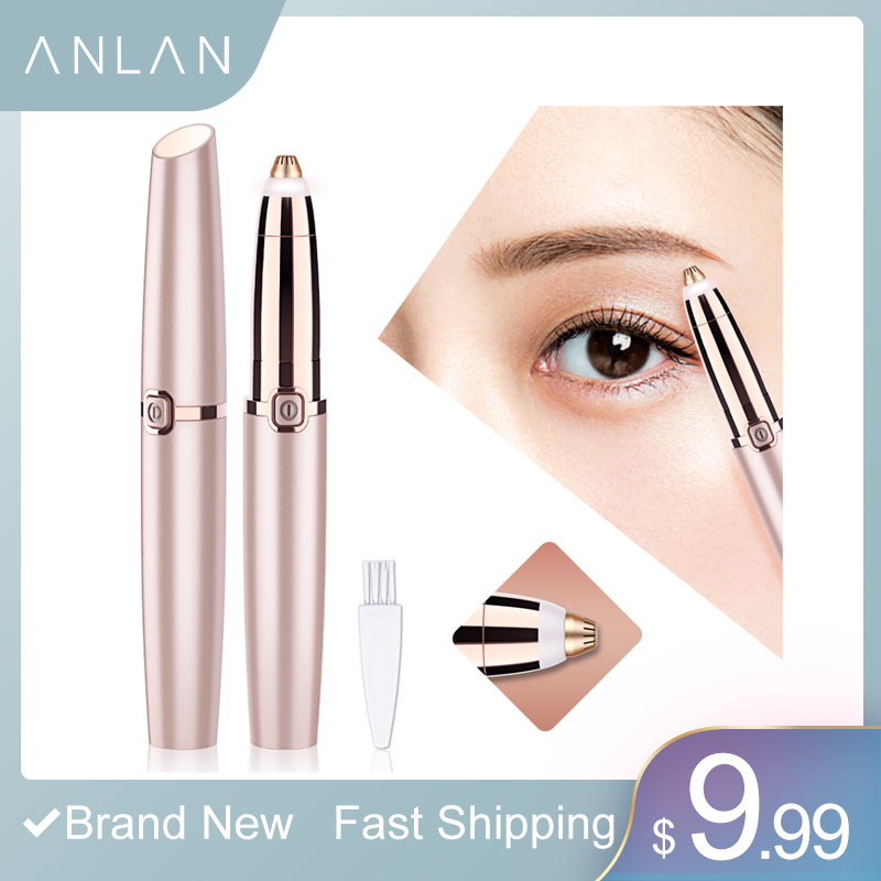 Mini Eyebrow Trimmer Epilators Lipstick Brows Pen Hair Remover Epilator Shaver Razor Instant Painless Eyebrow Razor Epilator