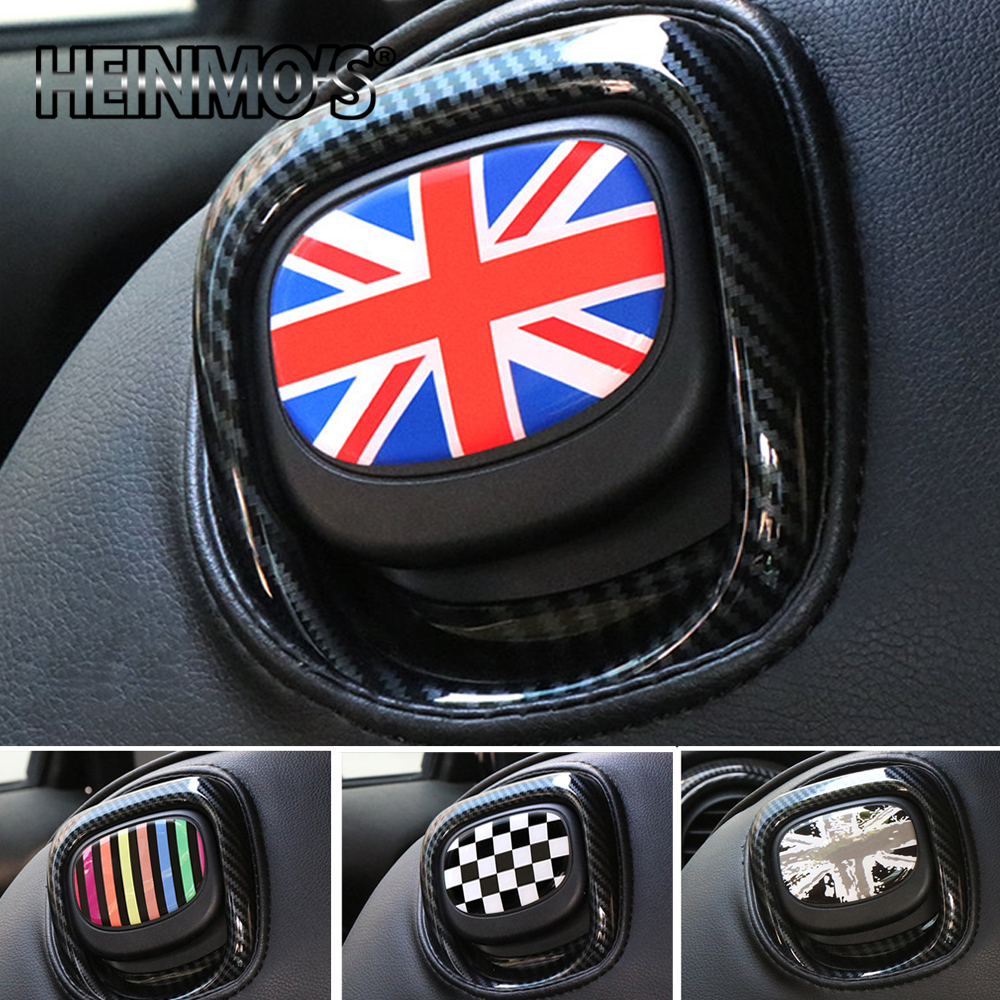 Interior Decoration Rear Seat Handle Sticker Protection Decal Cover For Mini Cooper JCW F56 F 56 F-56 Car Styling Accessories