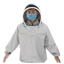 Комплект одежды для пчеловодства, куртка с вуалью, одежда с защитой от пчел, новинка, одежда для пчеловода, защитные перчатки для пчел, беспл...