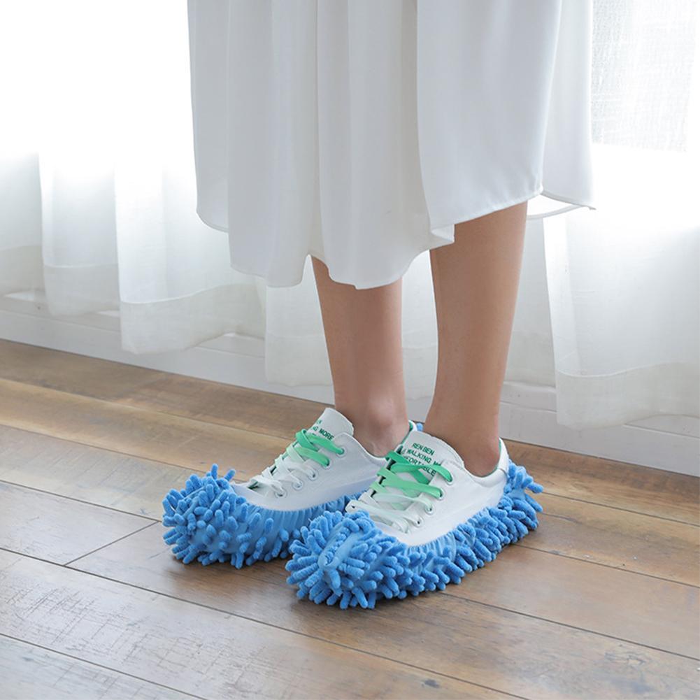 1Pcs Multifunctionele Floor Dust Cleaning Slippers Schoen Vegen Thuis Mop Huis Dweilen Schoenen Schone Schoenen Tool Lui Caps Schoonmaken q0C4