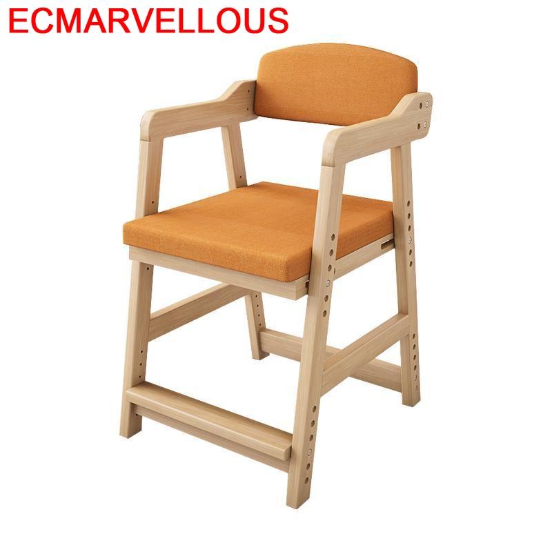 Mueble Pour Pouf Meuble Learning Tower Study Adjustable Cadeira Infantil Chaise Enfant Baby Kids Furniture Children Chair